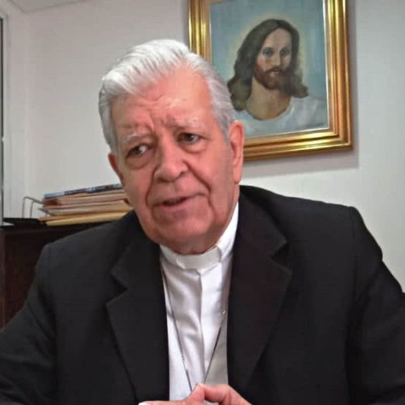 Mons. José Trinidad Fernández ofrece detalles sobre el estado de salud del Cardenal Jorge Urosa