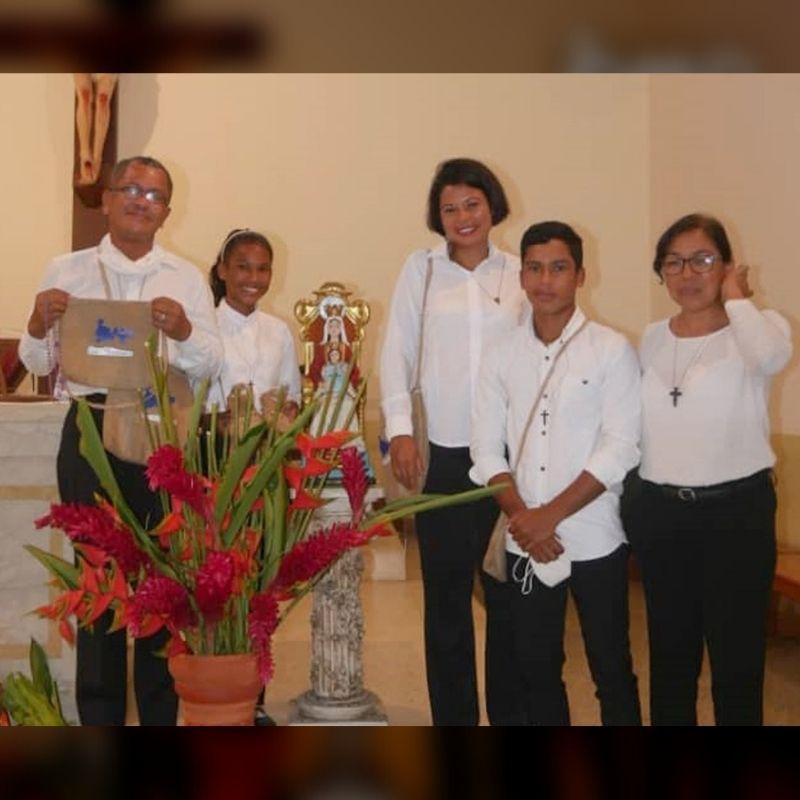 OMP Venezuela realizó envío de familia misionera al Vicariato Apostólico de Puerto Ayacucho a través del programa Relevo Misionero