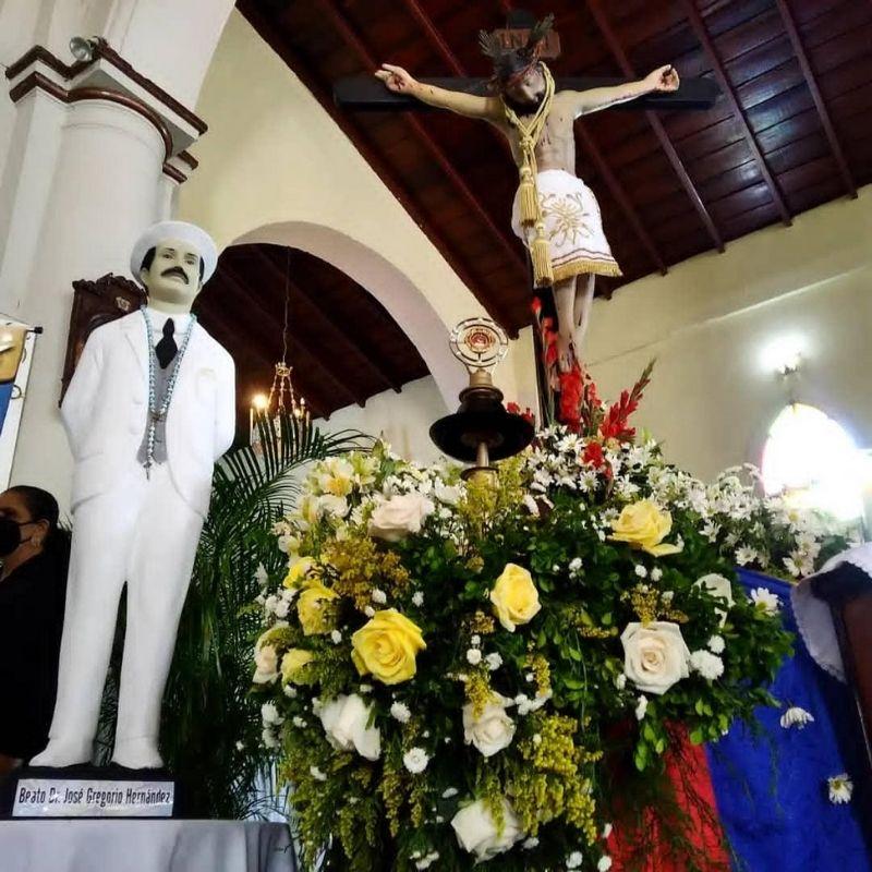 Diócesis de Valle de La Pascua: Continúa recorrido de la Reliquia del Beato José Gregorio Hernández