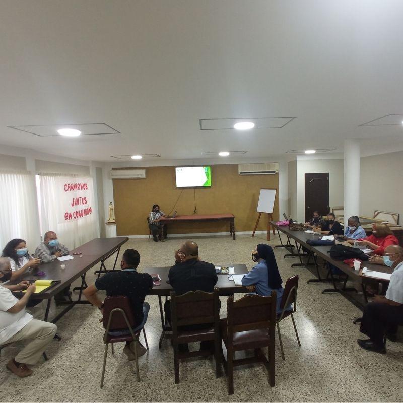 Pastoral Educativa y Universitaria de la Arquidiócesis de Coro presentó proyectos de embajadores del Pacto Educativo, animadores Laudato Si y animadores universitarios