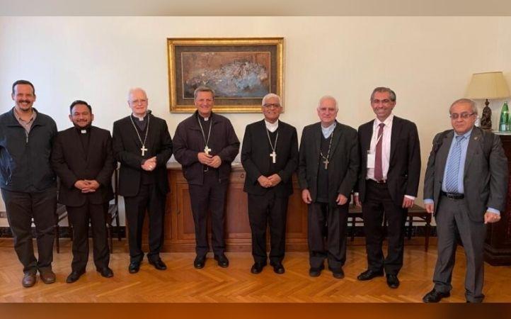 Presidencia del CELAM se encuentra con el Secretario General del Sínodo